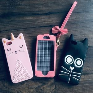 Accessories - iPhone 5 cases bundle